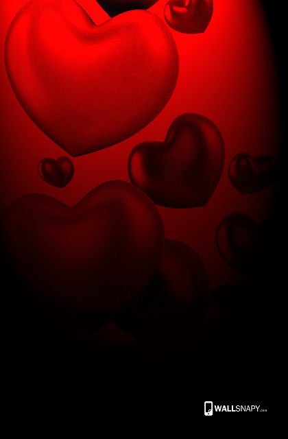 3d heart red images full hd wallpaper