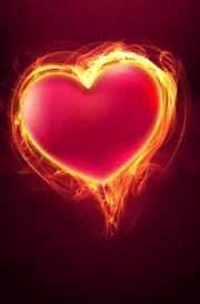 3d-heart-with-fire-hd-wallpaper-for-mobile