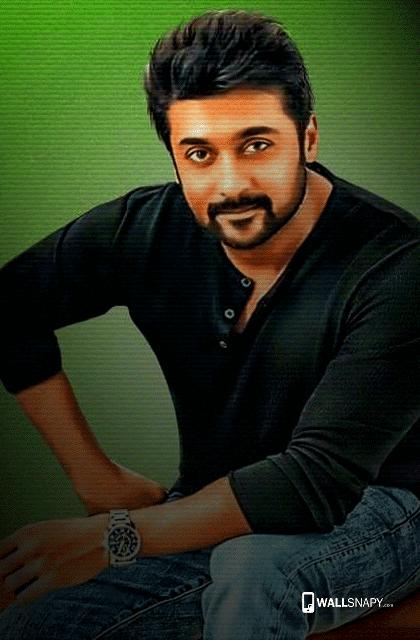 Actor Surya Smart Look Hd Wallpaper Primium Mobile