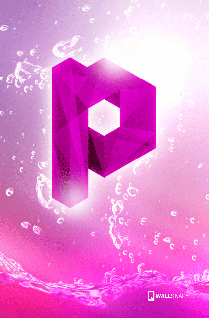 Android P Letter Hd Wallpaper Wallsnapy