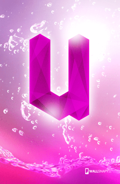 Android U Letter Hd Wallpaper Wallsnapy