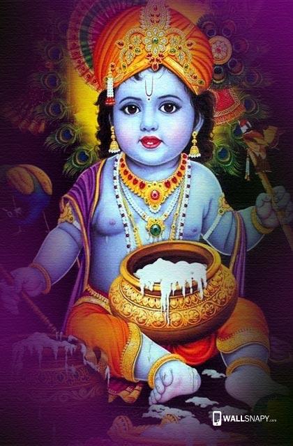 Baby Krishna Hd Wallpapers Wallsnapy