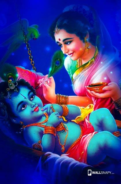 Baby Krishna Wallpapers Wallsnapy