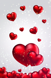 beautiful-3d-heart-background-for-mobile