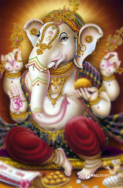 Beautiful Ganesha Hd Pictures Mobile Wallsnapy