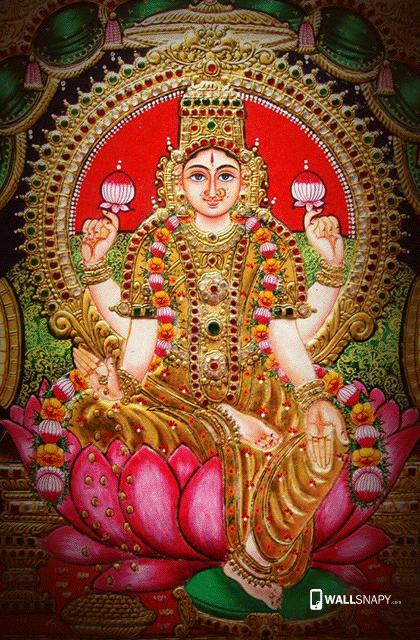 hindu god mahalakshmi hd wallpaper god mahalakshmi