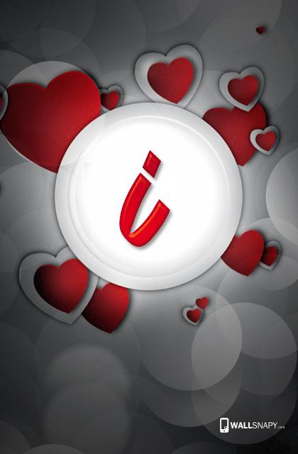 Beautiful I Alphabet Hd Wallpaper
