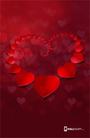 Wonderful Love Wallpapers For Mobile : 3d Love hd wallpaper Beautiful heart image Heart background full hd Primium mobile ...