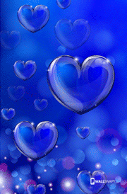 I love u hearten background hd wallpaper