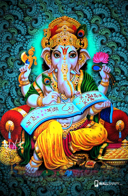 Beautiful wallpapers of lord ganesha - Wallsnapy