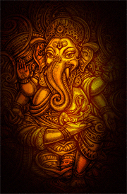 best-painting-for-ganesha-hd-wallpaper