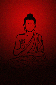 Bhddha Drawing Hd Wallpaper