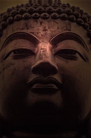 Buddha statue face wallpaper