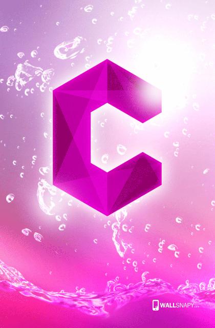 c letter wallpaper