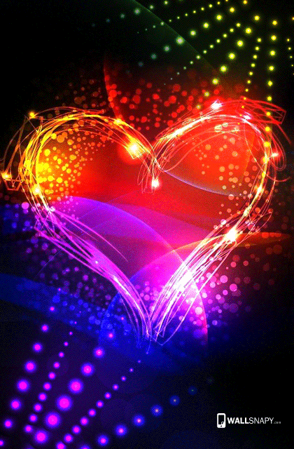 Colorful Heart Wallpaper Hd