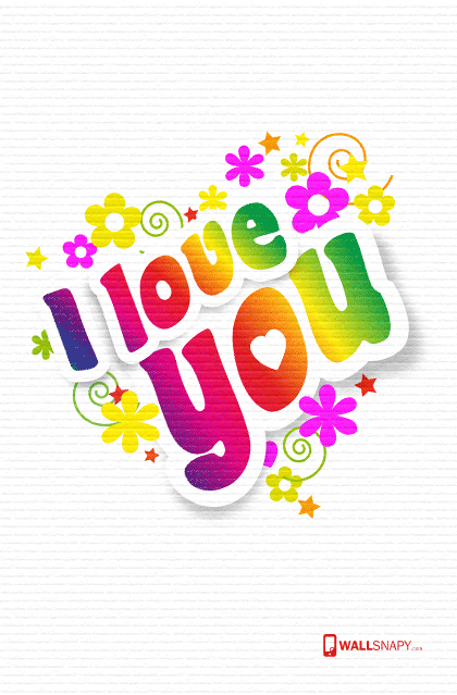 Colorful i love u letter hd wallpaper primium mobile - Y letter love wallpaper hd ...