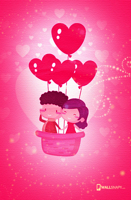 Cute Cartoon Love Wallpaper Hd For Mobile Wallsnapy