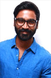 dhanush-smile-blue-shirt-hd-image