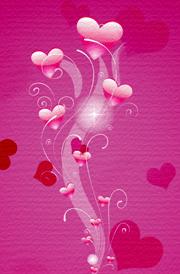 floral-hearten-3d-hd-wallpaper