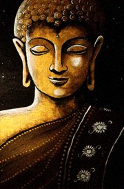 Gautam Buddha Painting Hd Wallpaper Free