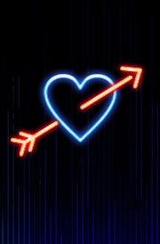 glowing-heart-light-effect-wallpaper