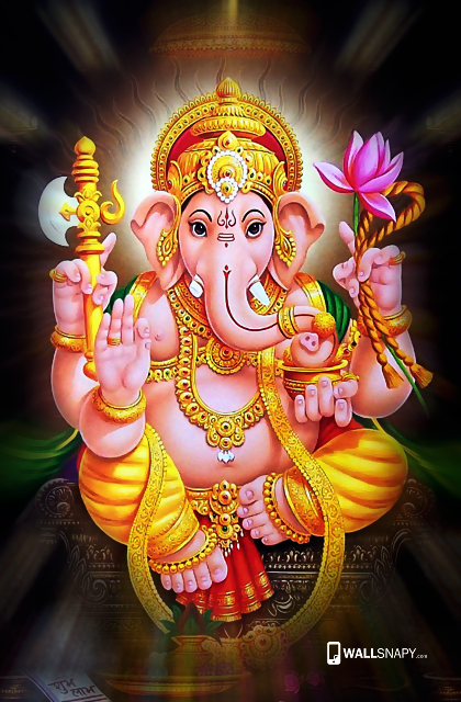 God Ganesha Wallpaper Hd For 5 5 Inch Mobile Wallsnapy