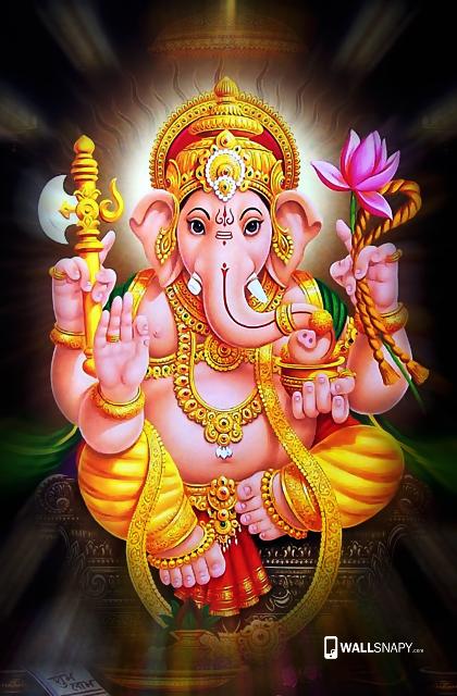 God ganesha wallpaper hd for 5.5 inch mobile Primium ...
