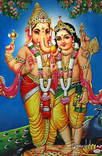 God Vinayagar Murugar Hd Images Wallsnapy Com