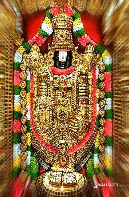 Gold Tirupati Balaji Hd Wallpaper Wallsnapycom