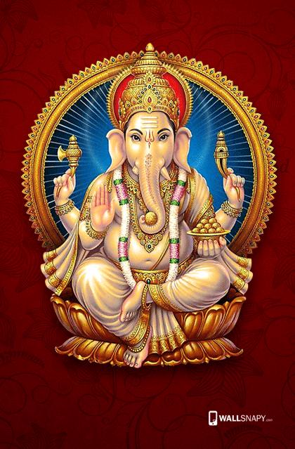 Gold Vinayagar Hd Wallpaper Wallsnapy Com