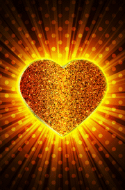 golden-heart-love-hd-wallpaper