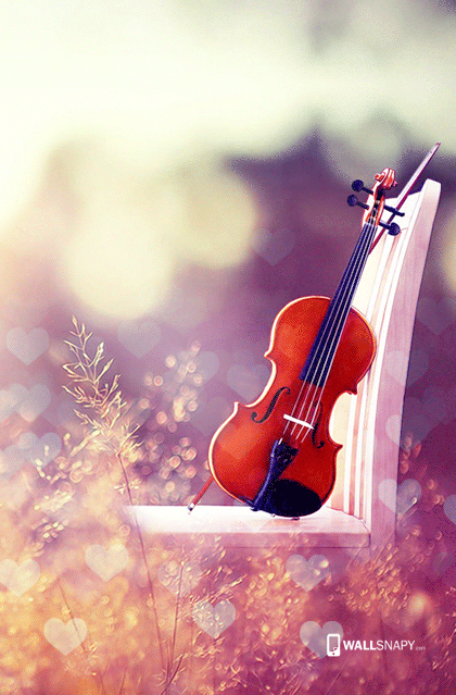 Guitar With Heart Full Hd Wallpaper Wallsnapy