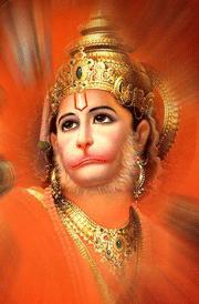 Hanuman face