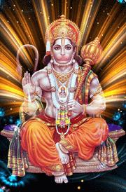 Hanuman setting