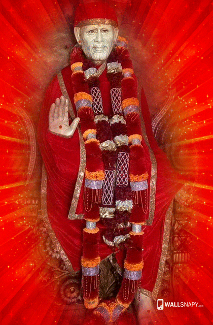 Hd Shirdi Saibaba Wallpaper For Mobile Wallsnapycom