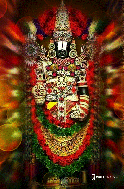 hindu god venkatachalapathy hd wallpaper lord balaji