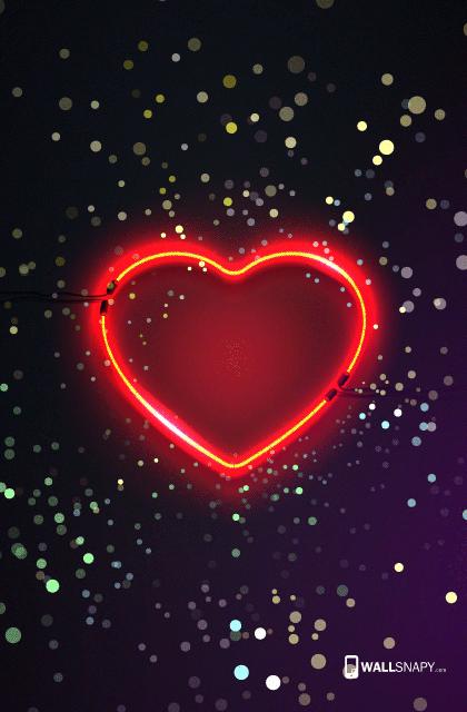 heart neon light hd wallpaper 4753650