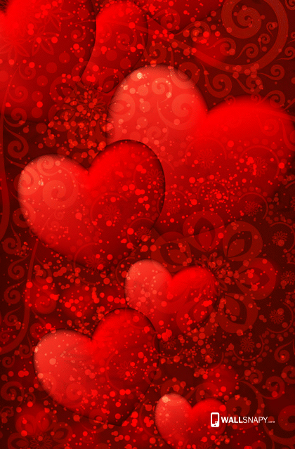 Love Wallpaper Mobile Size : Heart wallpaper hd mobile free download Primium mobile ...