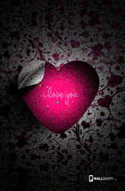 I love you heart hd wallpaper mobile