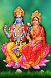 Images of lord vishnu lakshmi
