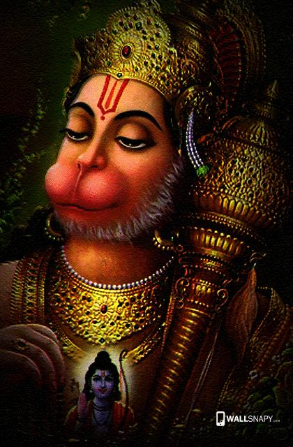 Indian God Hanuman Wallpaper For Android Wallsnapy