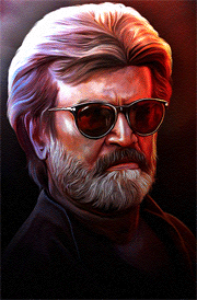 kaala-rajini-hd-painting-for-mobile