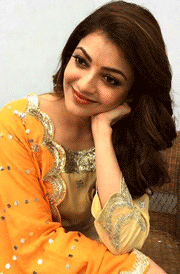 kajal-agarwal-orange-dress-hd-image