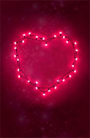 light-effect-hearten-image-for-mobile