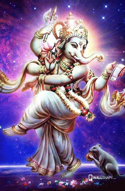 Lord Ganesh Ji Dancing Hd Wallpaper Wallsnapy