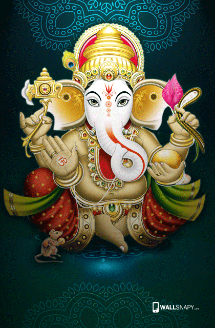 Lord Ganesh Mobile Wallpapers Free Download Wallsnapycom