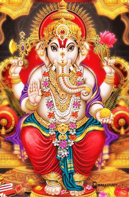 Lord ganesha images full hd mobile wallsnapy - Shri ganesh hd photo ...