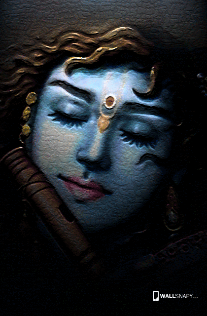 lord krishna modern art hd images for mobile 9782661