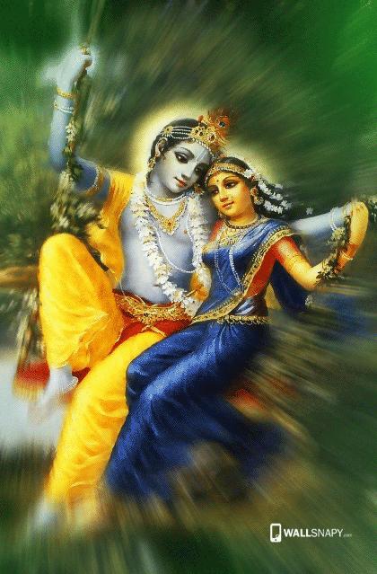 Lord Krishna Radha Love Hd Image Mobile Wallsnapy