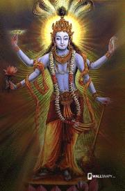 Lord maha vishnu image